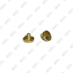 63059/1 PLUG THREADED 7X5,3 MM 2,5X3,4 BRASS