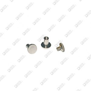 2026 TWIN SCREW ROUNDED HEAD D. 8 OTTONE