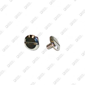 2031/2 TWIN SCREW HEAD D. 9 BRASS (2 SINGLE CUTS)