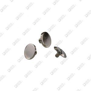 2575 TWIN SCREW FLAT HEAD D. 12 BRASS