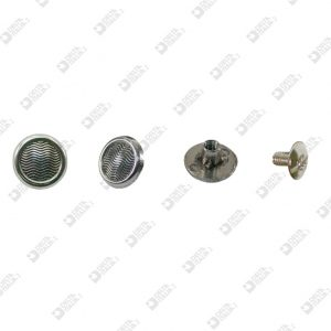 5217 ROUND SCREW D. 12 WITH STRIPES ZAMAK