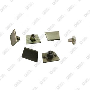 5247/1 INTERNAL INVISIBLE SCREW WITH PLUGS ZAMAK