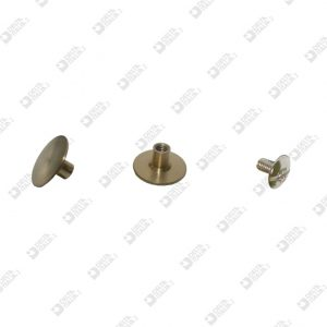 8598 INVISIBLE SCREW D. 12 BRASS