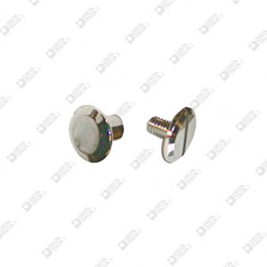 8838 TWIN SCREW HEAD D. 9 BRASS