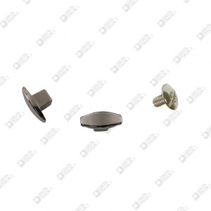 9016 NEUTRAL SCREW WITH SQUARE ZAMAK