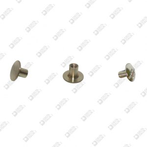 9029 INVISIBLE SCREW D. 9 BRASS