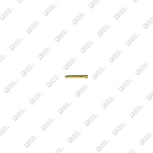 60134000 KNURLED PIN 1,65X15 LONG ENTRANCE BRASS