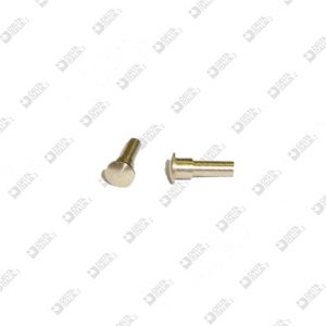 60744002 CONICAL PIN 3X6,1 BRASS