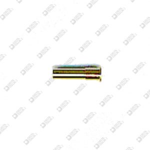 62413000 CONICAL PIN 2,5X7,5 BRASS