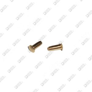 64027000 PIN 3,3X6 STICK 2X5 BRASS