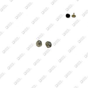 11101/7 HEXAGONAL ORNAMENT MM. 7 FOR NAIL 10793 ZAMAK