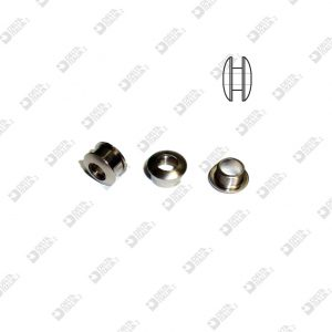 11186 SCREW EYELET 11X6 H 4 BRASS