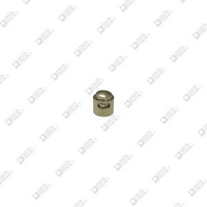 11672 ROPE CLIP 10X8 MM – HOLE 5X2,5 MM ZAMAK