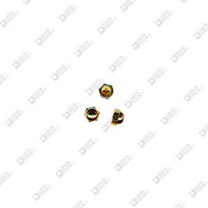 520/4 HEXAGONAL BLIND NUT 7X6 M 4 BRASS