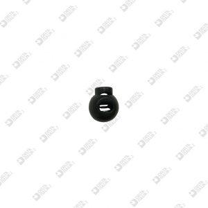5782 FERMACORDA SFERA D. 15 FORO 6X4 PLASTICA