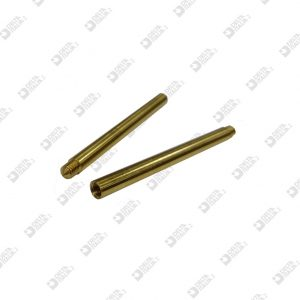 64291 PIN 3,5X44,5 DOUBLE THREAD BRASS