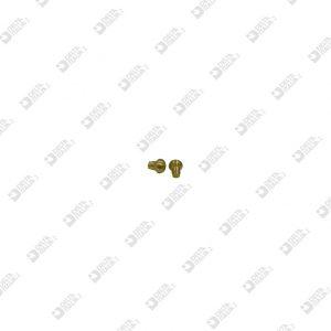 65123 POMOLO 4X 4,8 CON RIBASSO OTTONE