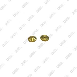 65127 KNURLED RING D. 10X 4 M 2 BRASS