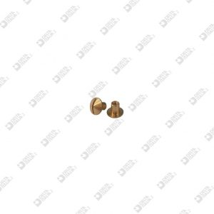 65159W00 FEMALE SCREW 8X 7,1 M 2,5 ECOBRASS