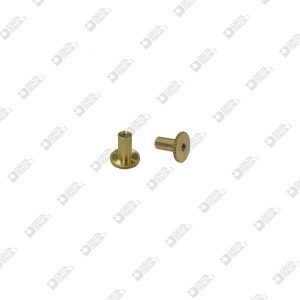 65232009 REGISTER SCREW D. 10X10 ST 9 M 3 BRASS