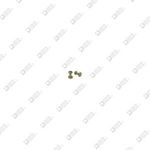 65297 STUD FOR BUCKLE 3X 4,5 SF. 2,6 BRASS