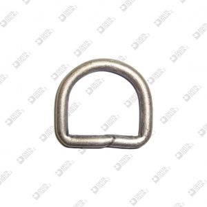10142/35-S WELDED HALF-RING 35X31 WIRE 6 MM IRON