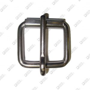 3380/45 ROLLER BUCKLE 45X38 WIRE 7 MM ROUND PRONG IRON