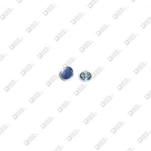 11681/ 6 CHIODO CALOTTATO 1,5X 6 T. 9,5 FERRO