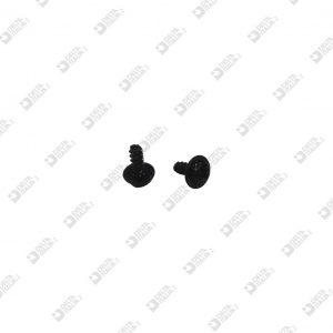 64340/10 SCREW 4X9,5 TC PH WITH WASHER GALVANIZED BLACK
