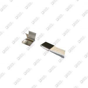 11692/10 CLIP TIP MM 10 BRASS