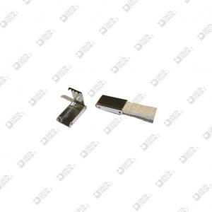 11692/6 CLIP TIP MM 6 BRASS