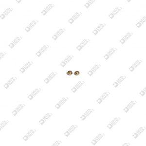 63636 ORNAMENT 3X2,5 STICK 1,75X0,9 BRASS