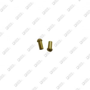 64832 ORNAMENT D. 6X12 M3 BRASS