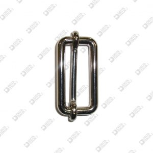 10645/40 SLIDING BUCKLE 40X16 WIRE 6 MM ZAMAK