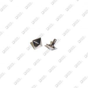 9281 PYRAMID ORNAMENT 10X10 FOR RIVET HEAD ZAMAK