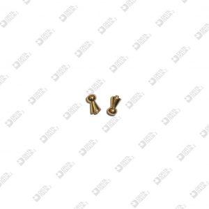 64561000 POMOLO 5X10 C/CODOLINO 2X1 OTTONE