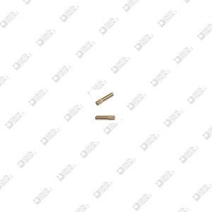 65390095  SPINA GODRONATA 2,1X 9,5 OTTONE